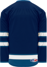 Load image into Gallery viewer, 2011 WINNIPEG NAVY Blank Hockey Jerseys