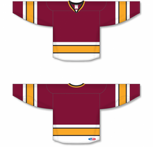 Load image into Gallery viewer, NEW WOLVES CARDINAL Blank Hockey Jerseys