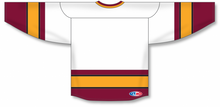 Load image into Gallery viewer, NEW WOLVES WHITE Blank Hockey Jerseys