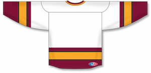 NEW WOLVES WHITE Blank Hockey Jerseys