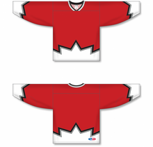 Load image into Gallery viewer, Sublimated 67's Red Pro Blank Hockey Jerseys