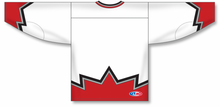 Load image into Gallery viewer, Sublimated 67's White Pro Blank Hockey Jerseys