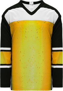 Ale Jersey Sublimated Pro Blank Hockey Jerseys