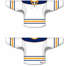 Load image into Gallery viewer, 2009 BUFFALO 3RD WHITE Pro Blank Hockey Jerseys