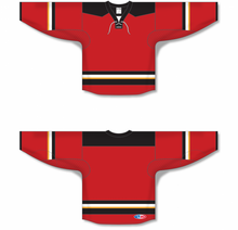 Load image into Gallery viewer, 2013 CALGARY 3RD RED Pro Blank Hockey Jerseys