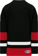 Load image into Gallery viewer, TEAM CANADA BLACK Gussets Pro Blank Hockey Jerseys