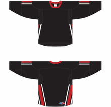 Load image into Gallery viewer, 2006 TEAM CANADA BLACK Gussets Pro Blank Hockey Jerseys