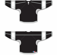 Load image into Gallery viewer, 2010 LOS ANGELES 3RD BLACK Gussets Pro Blank Hockey Jerseys
