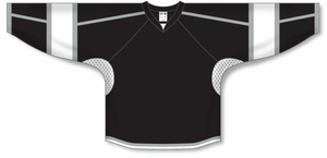 2010 LOS ANGELES 3RD BLACK Gussets Pro Blank Hockey Jerseys