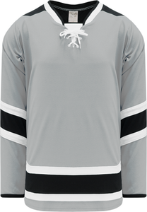 LA STADIUM SERIES GREY Pro Blank Hockey Jerseys