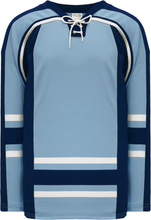 Load image into Gallery viewer, NEW MAINE 3RD POWDER Square Lace Neck Pro Blank Hockey Jerseys