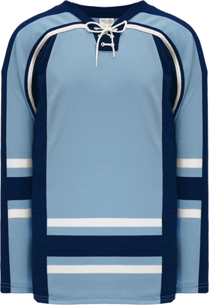 NEW MAINE 3RD POWDER Square Lace Neck Pro Blank Hockey Jerseys