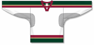MINNESOTA WILD WHITE Open Mesh Pro Blank Hockey Jerseys