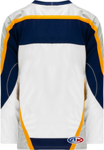Load image into Gallery viewer, NASHVILLE WHITE Gussets Pro Blank Hockey Jerseys