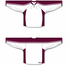 Load image into Gallery viewer, PETERBOROUGH Petes WHITE Blank Blank Hockey Jerseys