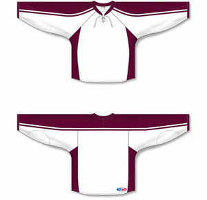 PETERBOROUGH Petes WHITE Blank Blank Hockey Jerseys