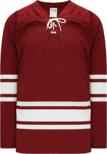 Load image into Gallery viewer, NEW PHOENIX AV RED Gussets Pro Blank Hockey Jerseys