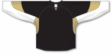 Load image into Gallery viewer, 2010 PITTSBURGH BLACK Gussets Pro Blank Hockey Jerseys