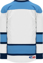 Load image into Gallery viewer, 2008 PITTSBURGH 3RD WHITE Lace Neck With Underlay Pro Blank Hockey Jerseys