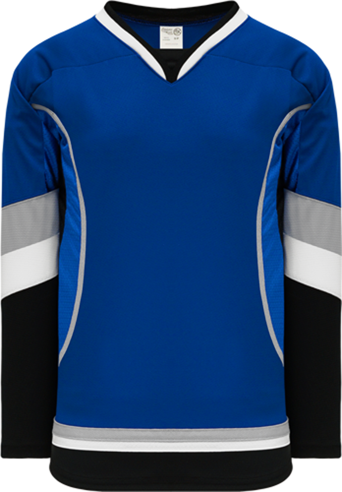 2009 TAMPA BAY 3RD ROYAL Piping Pro Blank Hockey Jerseys