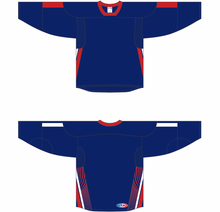 Load image into Gallery viewer, 2006 TEAM USA NAVY Sublimated Sleeve Stripes And Side Inserts