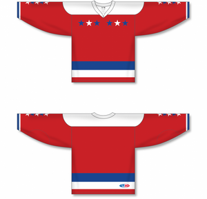 2011 WASHINGTON WINTER CLASSIC WHITE Sublimated Jersey