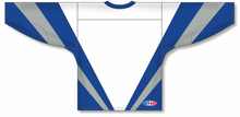 Load image into Gallery viewer, WORLD WHITE Pro Blank Hockey Jerseys