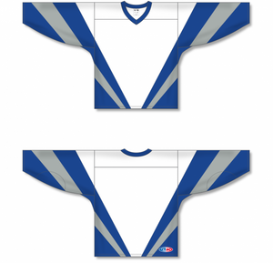 WORLD WHITE Pro Blank Hockey Jerseys