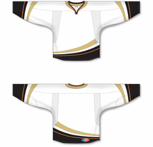Load image into Gallery viewer, Keyhole Neck With Halo Anaheim Hockey Jersey