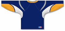 Load image into Gallery viewer, 2008 Buffalo Navy Pro Blank Hockey Jerseys