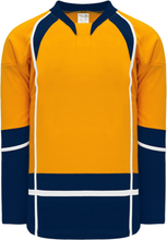 Load image into Gallery viewer, 2013 Nashville Gold Pro Blank Hockey Jerseys