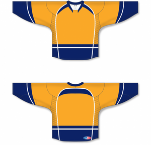 2013 Nashville Gold Pro Blank Hockey Jerseys