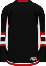 Load image into Gallery viewer, 2009 Ottawa 3rd Black Gussets Pro Blank Hockey Jerseys