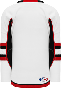 2009 Ottawa 3rd White Pro Blank Hockey Jerseys