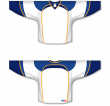 Load image into Gallery viewer, 2011 ST. LOUIS WHITE Gussets Pro Blank Hockey Jerseys