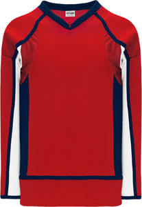2008 WASHINGTON RED Pro Blank Hockey Jerseys
