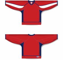 Load image into Gallery viewer, 2008 WASHINGTON RED Pro Blank Hockey Jerseys