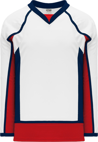 2008 WASHINGTON WHITE Pro Blank Hockey Jerseys
