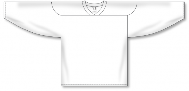 Practice Blank Hockey Jerseys H6000-000