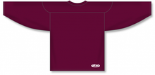 Load image into Gallery viewer, Maroon Practice Blank Hockey Jerseys