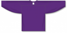 Load image into Gallery viewer, Purple Practice Blank Hockey Jerseys