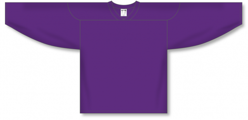 Purple Practice Blank Hockey Jerseys
