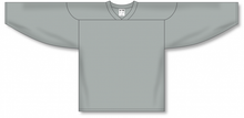 Load image into Gallery viewer, Grey Practice Blank Hockey Jerseys