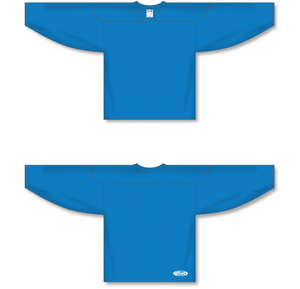 Pro Blue Practice Blank Hockey Jerseys