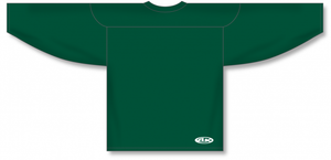 Dark Green Practice Blank Hockey Jerseys