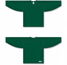 Load image into Gallery viewer, Dark Green Practice Blank Hockey Jerseys