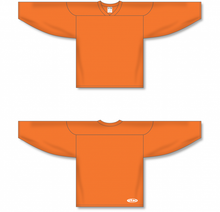 Load image into Gallery viewer, Orange Practice Blank Hockey Jerseys