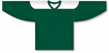 Load image into Gallery viewer, Dark Green, White League Hockey Jerseys