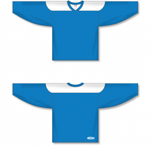 Load image into Gallery viewer, Pro Blue, White League Blank Hockey Jerseys