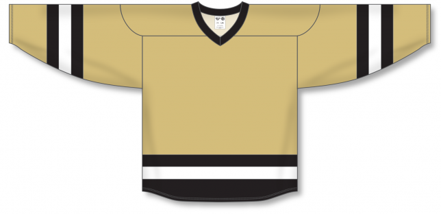 Vegas, Black, White League Blank Hockey Jerseys